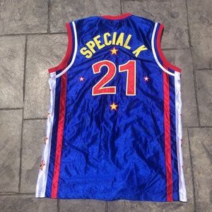 Special K Harlem Globetrotters Basketball Jersey